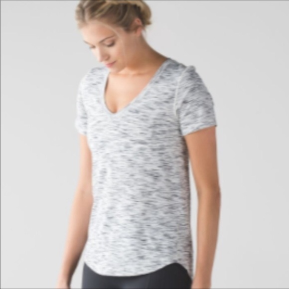 4591c8cf3d lululemon athletica Tops - Lululemon 8  What the Sport  Tee in Space dye  tige